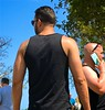 Men at pride (LarryJay99 ) Tags: male man goatees dude guys bluesky photostream flickr hotman detox attractiveman armpits guy peekingnipples facialhair lakeworth diggingpits handsome dudes florida gayevents men blacktanktops providefirst2017 tanktops shoulders attractive tattoos beards iphone7plusbackdualcamera66mmf28