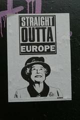 Straight outta Europe (duncan) Tags: streetart shoreditch johndoh