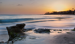 Laguna Beach (Zack Podratz) Tags: ocean california sunset sea sun beach nature canon seaside naturallight socal 5d 16mm sunsetlight lagunabeach circularpolarizer beachside lateday rockyshore 1635mm rockoutcropping ef1635mmf28liiusm 5dm3 mainbeachpark