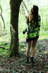 Jade. (EatYourHeart1) Tags: girl beautiful forest photo friend spike jeffreycampbell