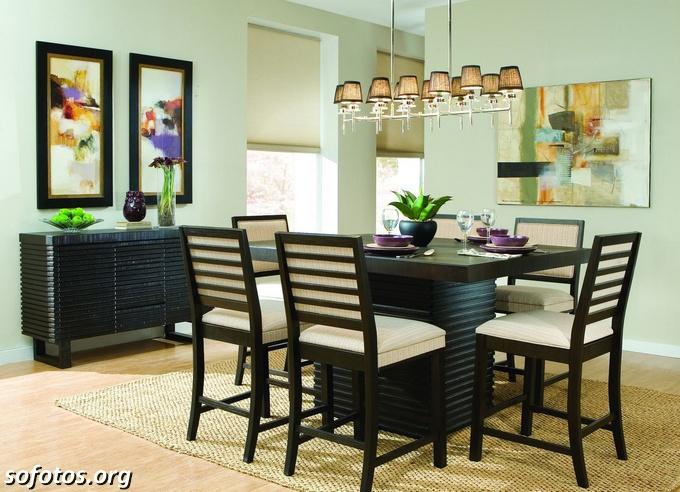 Salas de jantar decoradas (156)