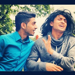DhoomBros: Funny Songs With NO WORDS! check it out! #dhoombros #dbnation #db #hussain #hussainasif #shehry (Hussain Asif) Tags: pakistan hilarious funny pakistani asif hussain shehry supersta shehryar uploaded:by=instagram hussainasif dhoombros dbnation dhoombrosnation ideewane dbnationlogo hussaindhoombros