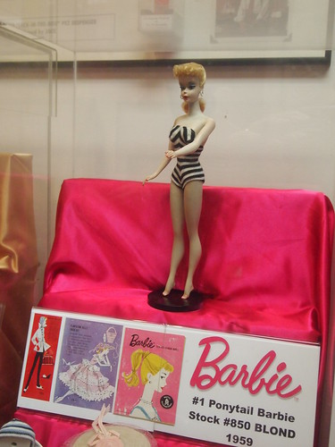 The First Barbie Doll