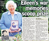 One Woman's War - Eileen winning The People's Book Prize (Candy Jar) Tags: justin history newspaper 1930s russell candy room military echo books 1940s filter ww2 shaun eileen blitz author publishing worldwar2 secondworldwar candyjar younghusband voluntary waaf chaloner eileenyounghusband onewomanswar candyjarbooks