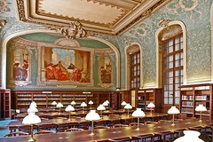 La Sorbonne Reading Room, Paris, France (Iris Speed Reading) Tags: world latinamerica southamerica beautiful us amazing cool asia europe top library libraries united most states coolest inspiring speedreading