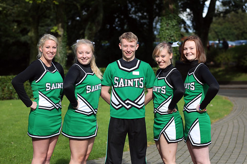 The Saints Cheerleading Squad