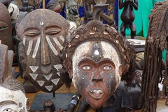 African Masks (Puerto De Liverpool.) Tags: england music liverpool concert stalls seftonpark merseyside africanmasks annualevent africanmusicfestival africaoye africanculture freeevent europeancapitalofculture2008 liverpoolculture theukslargestfreecelebrationofafricanmusicandculture