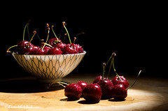 very cherry (sure2talk) Tags: cherries flash waterdrops lowkey speedlight tabletop luscious verycherry snoot offcamera sb900 weekendassignmentandcontest nikkor50mmf14gafs nikond7000 thepinnaclehof kanchenjungachallengewinner tphofweek218 tp592013 tpmoderatorschoicestilllife