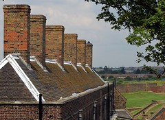Tilbury Fort, Essex (Deptford Draylons) Tags: houses england roofs essex chimneys englishheritage tilburyfort