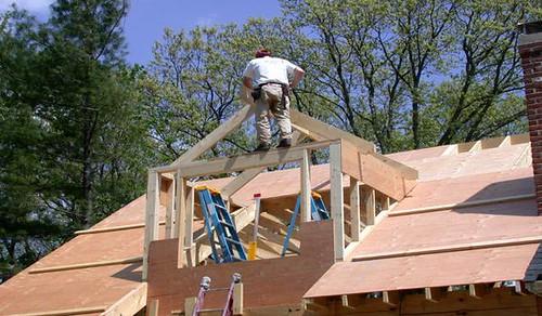 madera contrachapada techo