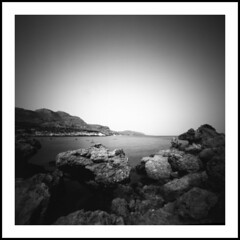 seascape # 4 (Roberto Messina photography) Tags: island july pinhole greece rhodes zero2000 2013