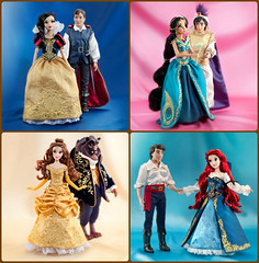 Designer Fairytale-Full Body (They Call Me Obsessed) Tags: new white snow ariel beauty fairytale eric doll dolls princess little designer jasmine couples prince disney belle beast mermaid aladdin limited sets princesses 2013 editon