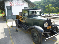 1930 Chevy Express (ctcrankees) Tags: westvirginia steamtrain cassscenicrailway