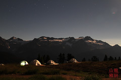 Elfin Lakes, Garbaldi Provincial Park (28th Vancouver Scout Group) Tags: camping moon mountain expedition hiking scouts moonlight elfinlakes garibaldiprovincialpark backbacking scoutscanada explorebc