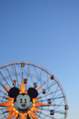 Mickey's Fun Wheel [216/365] (disnemma) Tags: twilight bokeh disneyland californiaadventure day216 paradisepier worldofcolor mickeysfunwheel day216365 3652013 365the2013edition roadtrip2013 04aug13