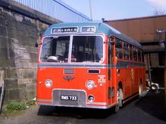 0301 19730416 Highland RMS 733 (CWG43) Tags: uk bus alexander reliance aec rapson alexandermidland highlandomnibuses highlandscottish rms733