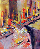 Web. Chinatown Street crnr No.1 (ChinatownBranch) Tags: nyc newyork art painting sketch cityscape drawing streetscene chintown