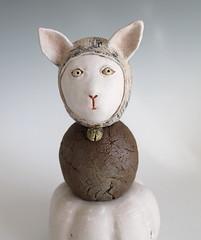 Equilibrium - Sold (Midori Takaki) Tags: ceramic sculptures stoneware