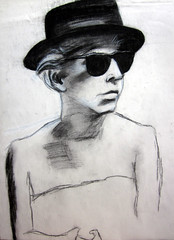 "Jane Byrne Blues Brothers charcoal • <a style=""font-size:0.8em;"" href=""https://www.flickr.com/photos/78624443@N00/9758488385/"" target=""_blank"">View on Flickr</a>"
