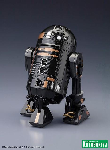 壽屋 – 2013 NYCC 限定 星際大戰 R2-Q5 ARTFX+ Statue 雕像作品