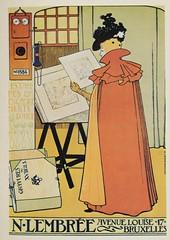 Poster Lucien Metivet (janwillemsen) Tags: poster artnouveau jugendstil bookillustration