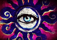 I'll Be Watching You (Ba®ky) Tags: cats abstract color colour eye art japan pattern artistic jesus surreal kitsch psychedelic cartoonish iphone barky 芸術 سكس wowiekazowie iphoneography ba®ky barkyvision