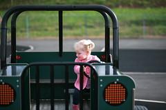 IMG_9497 (^Joe) Tags: park pink cute girl child outdoor swing jumper