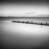 dock at dusk (StephenCairns) Tags: dock flood dusk boatlaunch 夕方 hikone 琵琶湖 lakebiwa 滋賀県 日の入り stephencairns 彦根市 hikoneviewhotel