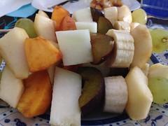 Brochetas de fruta (torresburriel) Tags: food fruit aragon sobrarbe