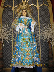 Marian Image (Leo Cloma) Tags: santa mary philippines saints exhibit virgin bulacan santos isabel blessed marian malolos cloma
