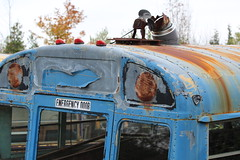 Accessorized bus (martinaschneider) Tags: auto wreckers mcleans