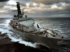 Royal Navy HMS Westminster (colinfpickett) Tags: sea water westminster boat ship navy craft vessel rough royalnavy type23