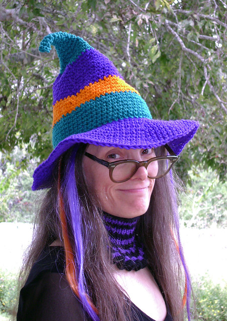 Ravelry The Whimsical Witch Hat Pattern By Amanda Steves