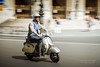 Dolce Vita in Paris (Cedpics) Tags: road summer paris france canon scooter route motorbike driver panning piaggio filé placedelopera thephotographyblog