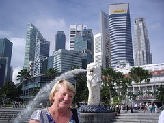 Singapore Merlion (Bootnecks) Tags: singapore marinapark marinabay merlionpark singaporemerlion