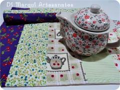Lugar americano (Di Marqui Artesanatos) Tags: craft jogo lugar cozinha americano tecido costura
