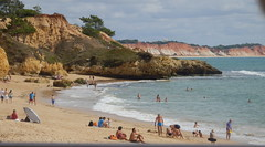 PA230521Badeleben an der Algarve Ende Oktober 2013 (fotoculus) Tags: portugal algarve albufeira salgados