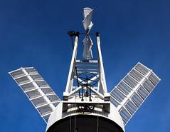 Holgate Windmill fantail, November 2013 (1)