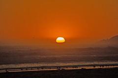 Sunset at the beach (Mysophie08) Tags: california unitedstatesofamerica blurred pismo mediumquality thechallengefactory