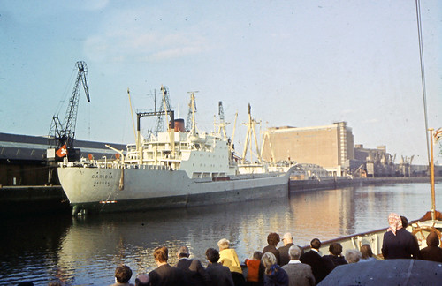 MV Caribia River Clyde 1970s