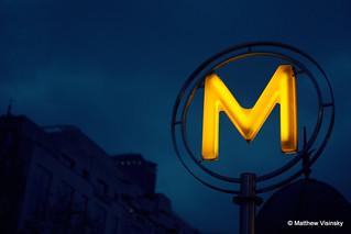 Vavin Metro - Paris