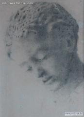Giulio Cesare Prati Testa matita