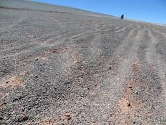 The long push to the Salar de Archibarca begins (Pikes On Bikes) Tags: de hiking bikes 9 climbing biking push pikes volcanoes salar touring salta puna llullaillaco archibarca