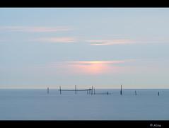 ..... I love you (Just me, Aline) Tags: longexposure sunset sea holland beach netherlands strand zonsondergang nederland zee le d800 rockanje langesluitertijd leefilters 9nd bigstopper