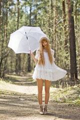 Jenya (alenkasha) Tags: wood girls summer nature dress russia longhair beautifulgirls yaroslavl lovelygirl shortdress dollygirls dollyroom