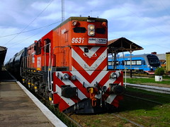 EMD GR12 FEPSA (carlosdob777) Tags: argentina buenosaires estacion valeria locomotora bragado ferrocarril sarmiento emd 6631 gr12 pampeano fepsa ferroexpreso