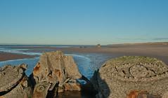 Submarine Wreck (Sandy Beach Cat) Tags: uk sea beach scotland sand submarine ww2 wreck worldwar lothian aberlady xcraft tirpitz