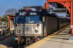Amtrak Train 97, The Silver Meteor (MIDEXJET (Thank you for over 2 million views!)) Tags: unitedstatesofamerica amtrak delaware wilmington nec northeastcorridor aem7 wilmingtondelaware silvermeteor train97 amtk943