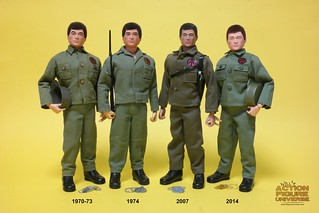 20170212 - G.I. Joe Adventure Team: Man of Action - 1970-73, 1974, 2007 & 2014