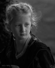 Contemplating (julius_titak) Tags: bw child rimlight